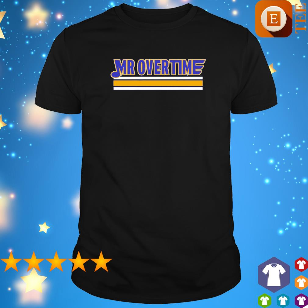 St. Louis call Mr. Overtime shirt