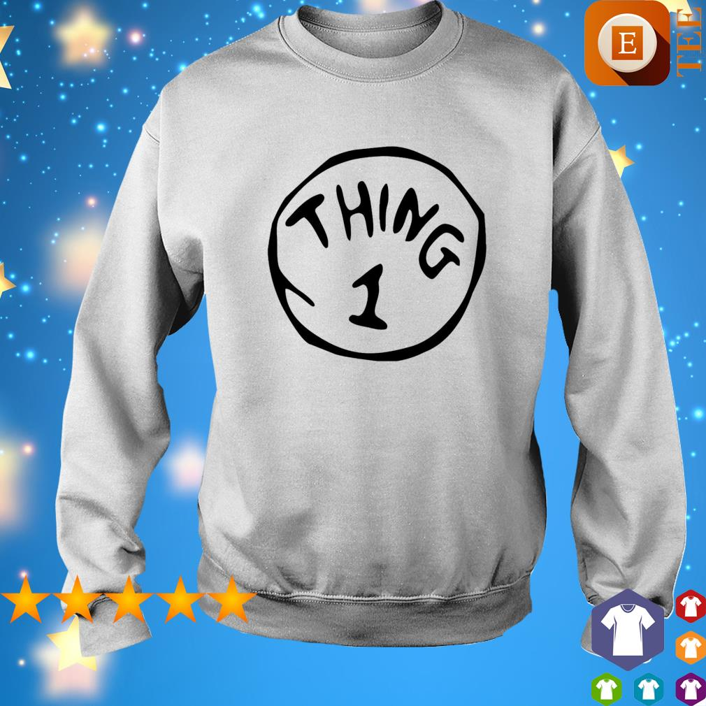 Thing 1 Thing 2 Thing Dad Thing Mom s sweater