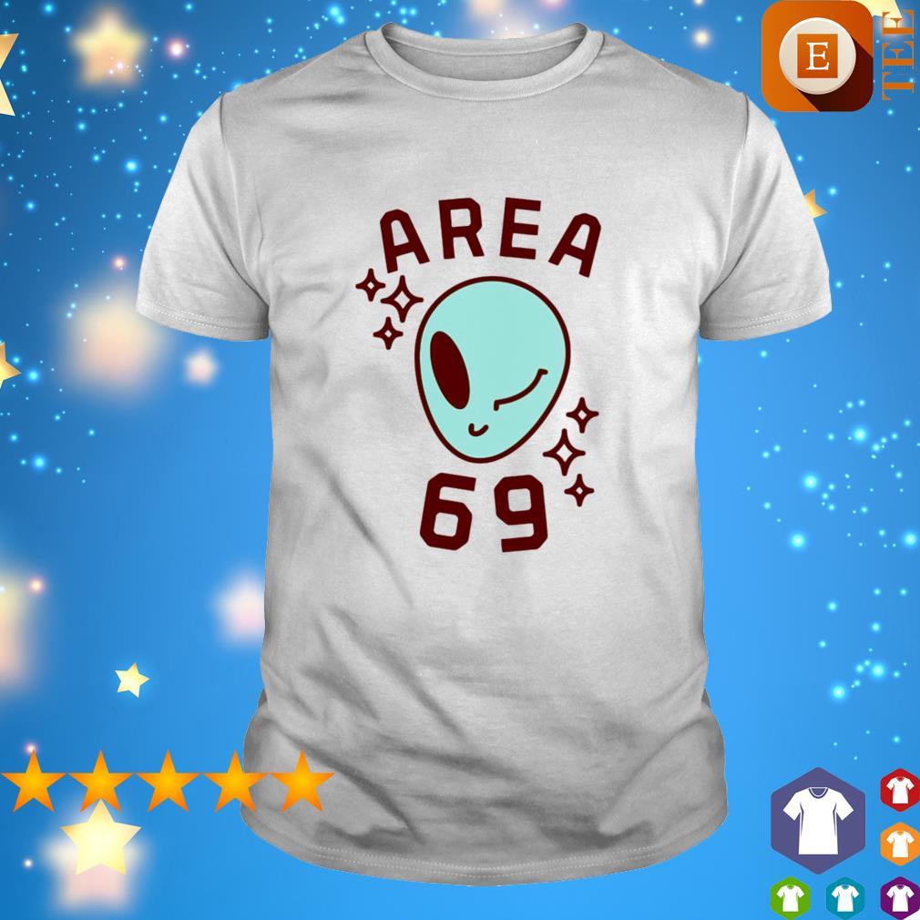 Area 69 alian wink shirt