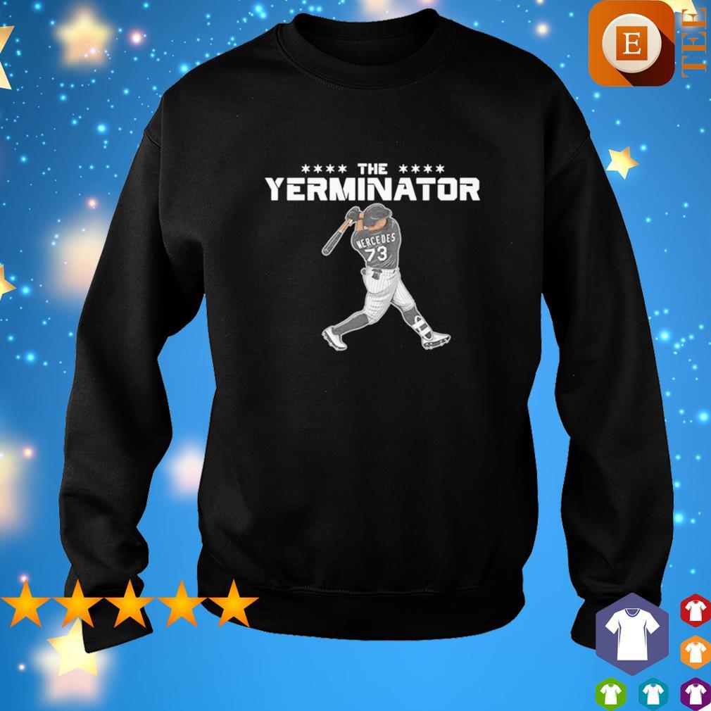 Yermin Mercedes the Terminator s sweater