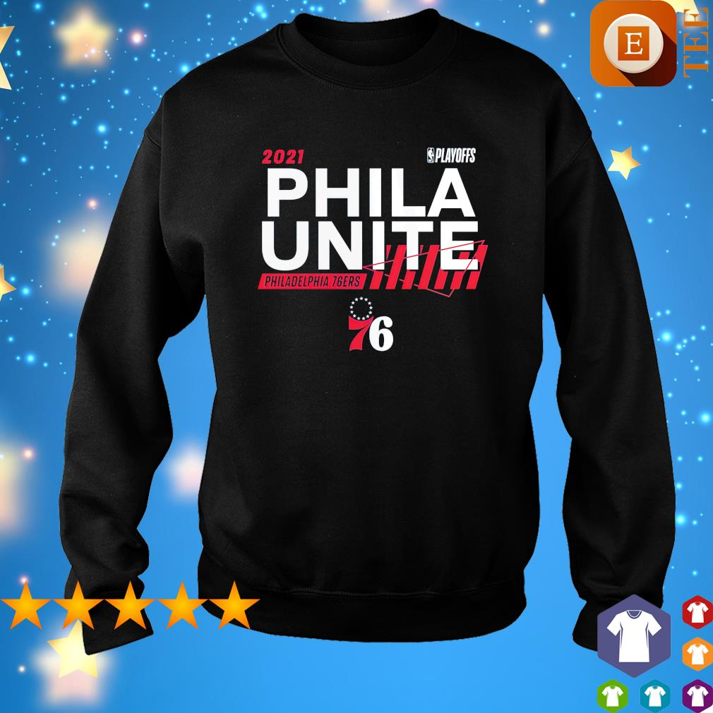 2021 NBA Playoffs Phila Unite Philadelphia 76ers s sweater