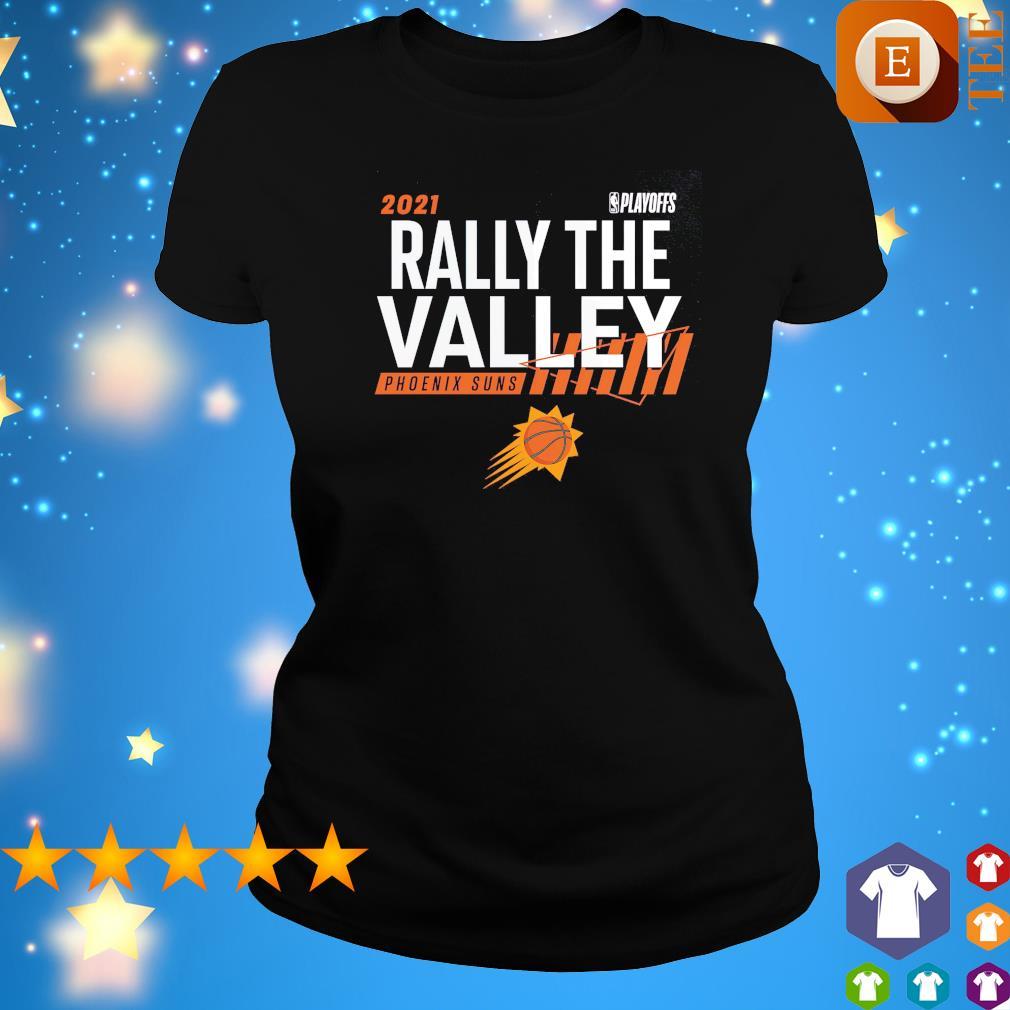 2021 NBA Playoffs Rally the valley Phoenix Suns s ladies tee