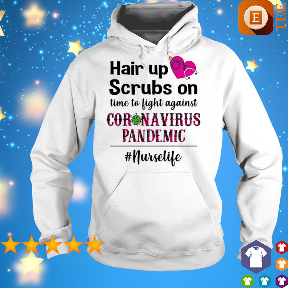 Hair up scrubs on time to fight against Coronavirus Pandemic s 5