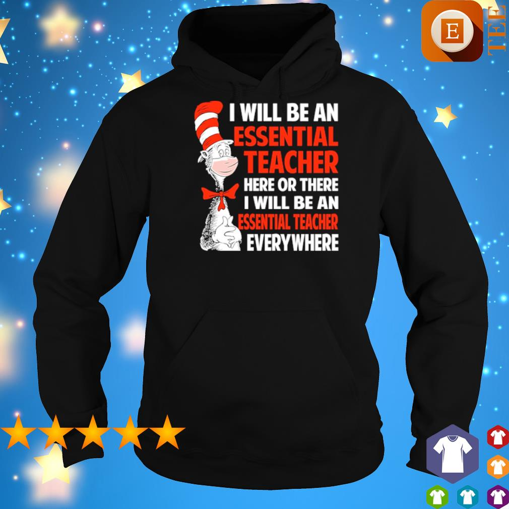 Dr Seuss I will be an essential Teach here or there I will be an essential Teach s 6