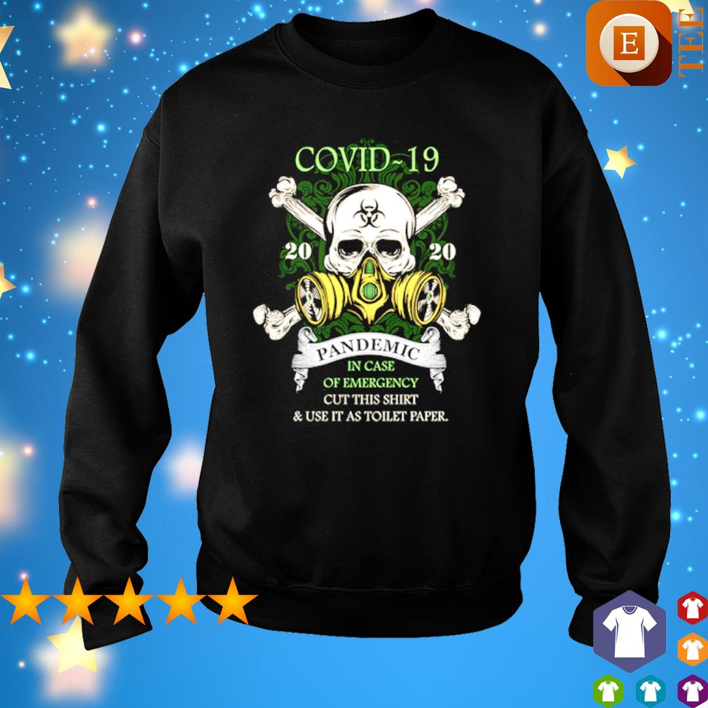 Skull Covid-19 pandemic in case of emergency cut this s 7