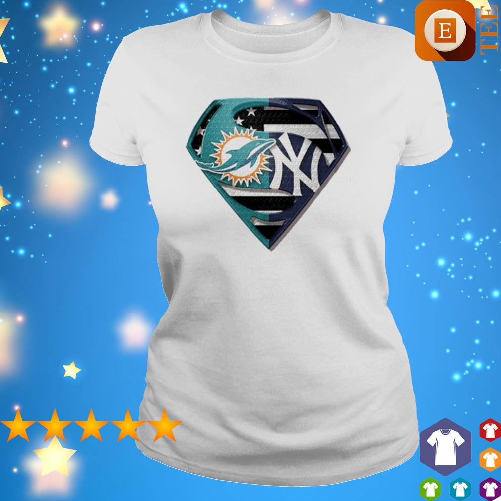 Superman Miami Dolphins and New York Yankees s 4