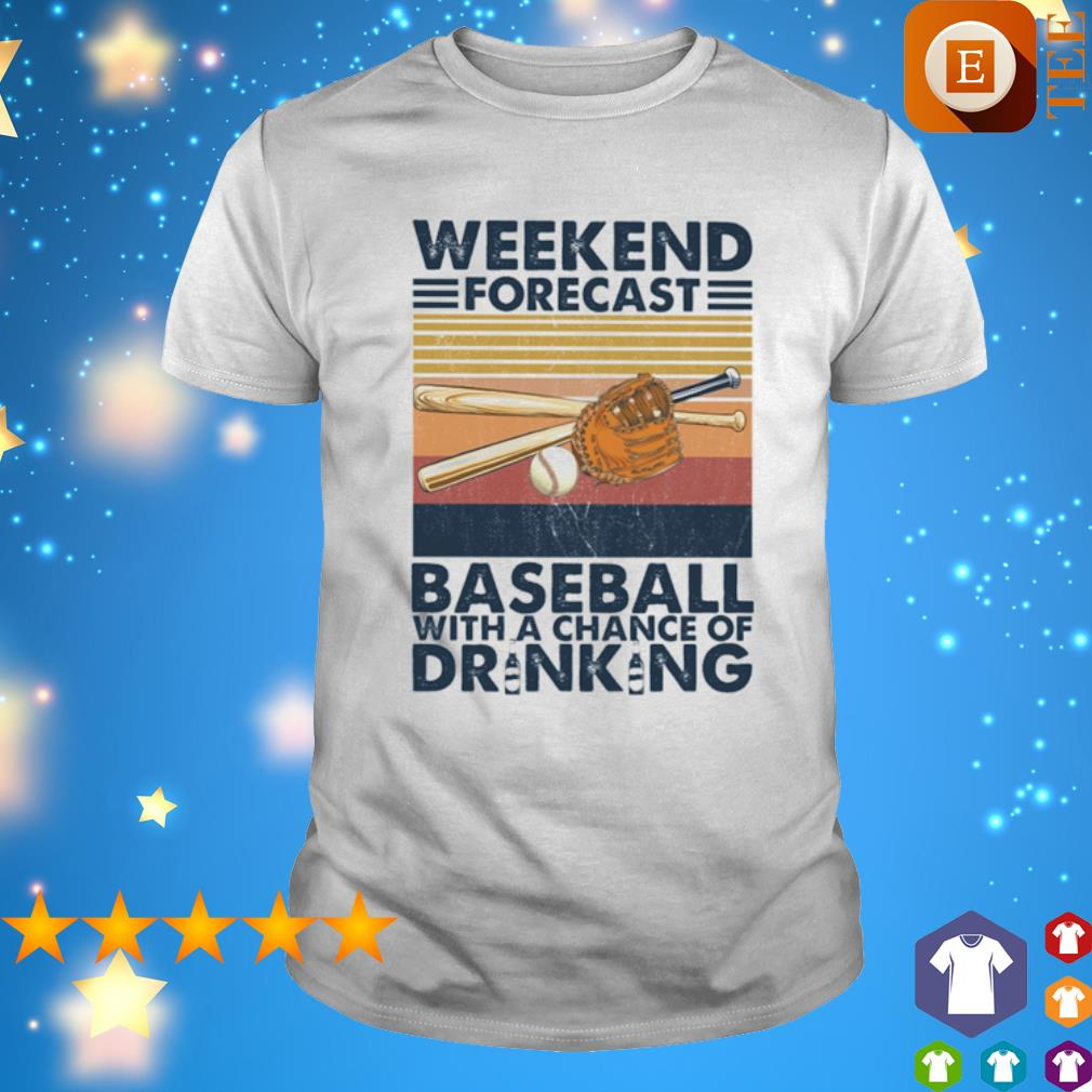 Baseball With A Chance Of Drinking vintage shirt