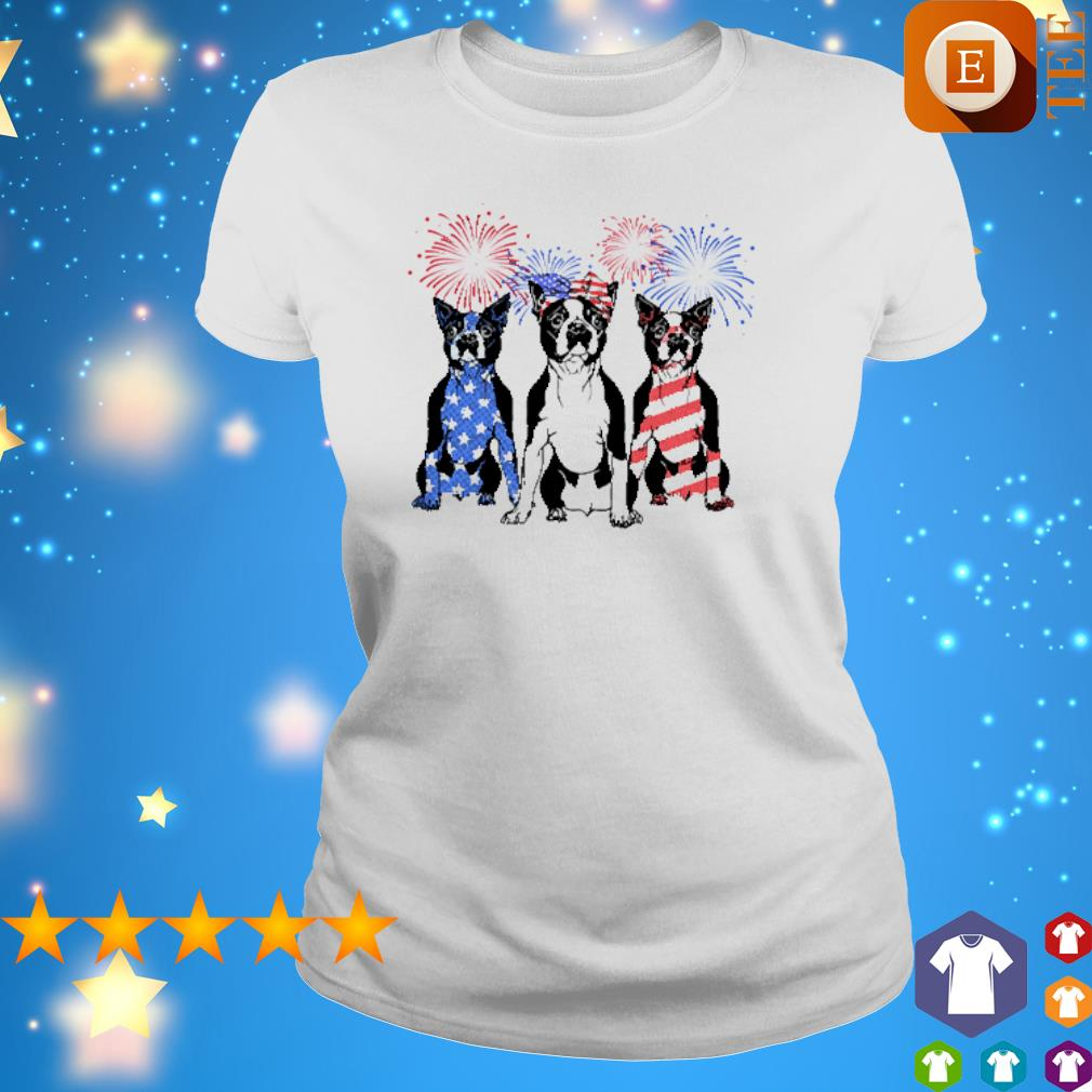 Boston Terrier happy 4th of July s 4