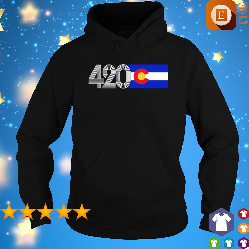 420 Colorado State flag s hoodie