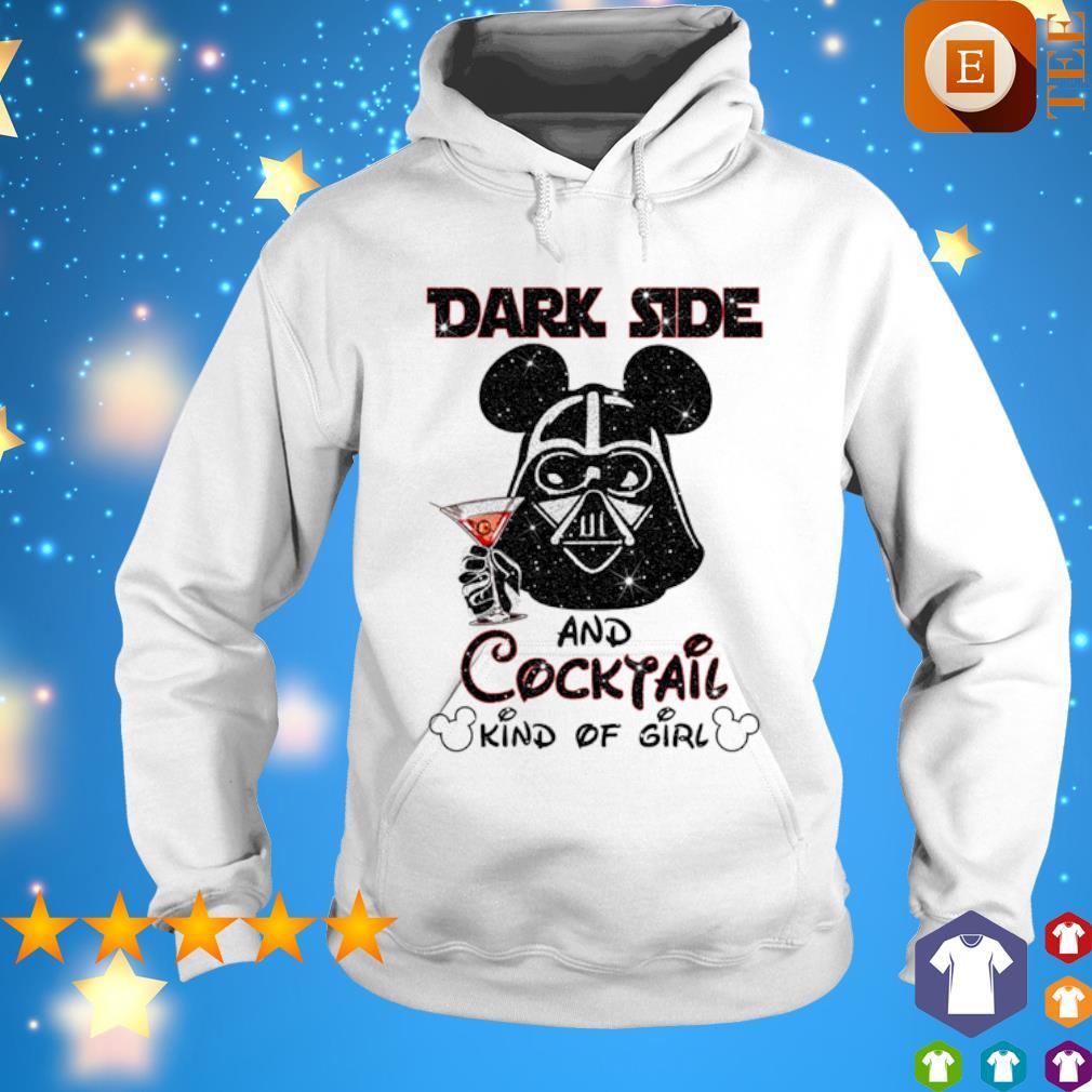 Darth Vader dark side and Cocktail kind of girl s hoodie