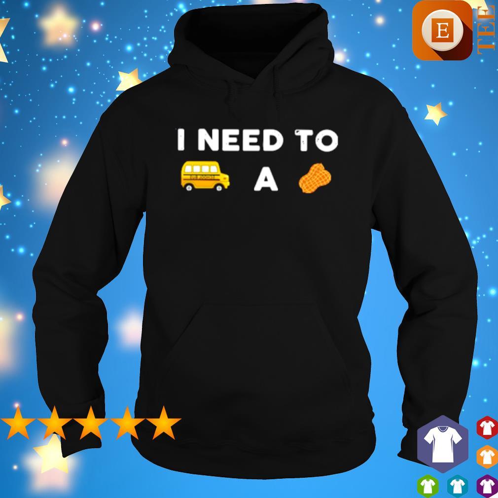 I need to a Bus school a Peanut s hoodie