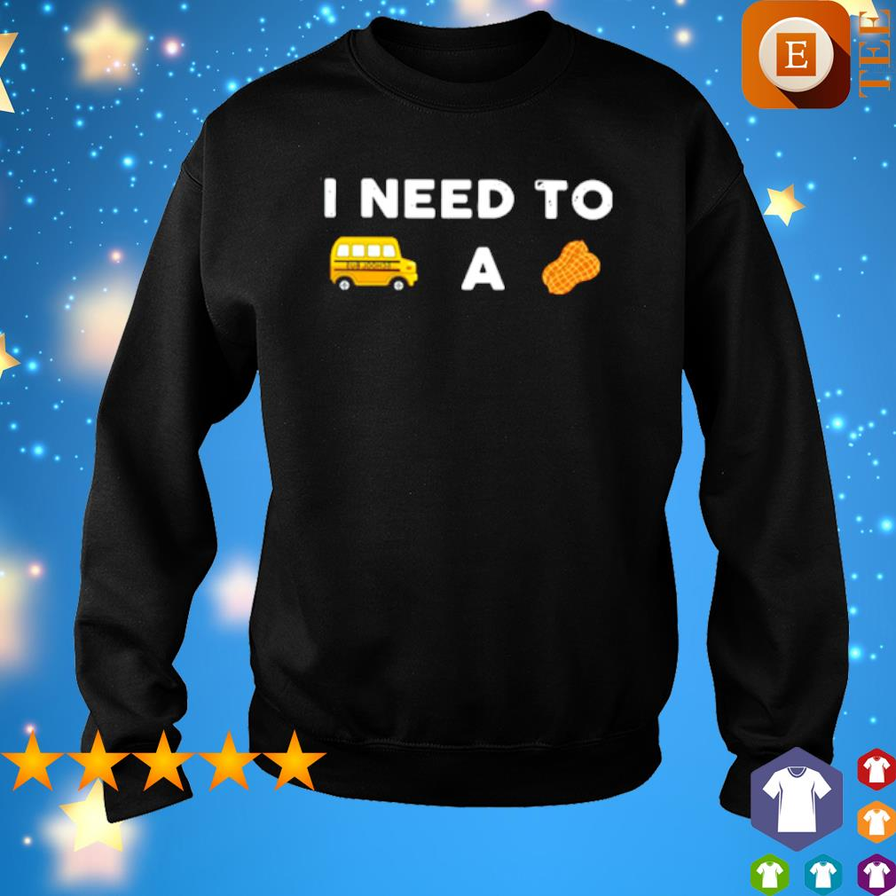 I need to a Bus school a Peanut s sweater