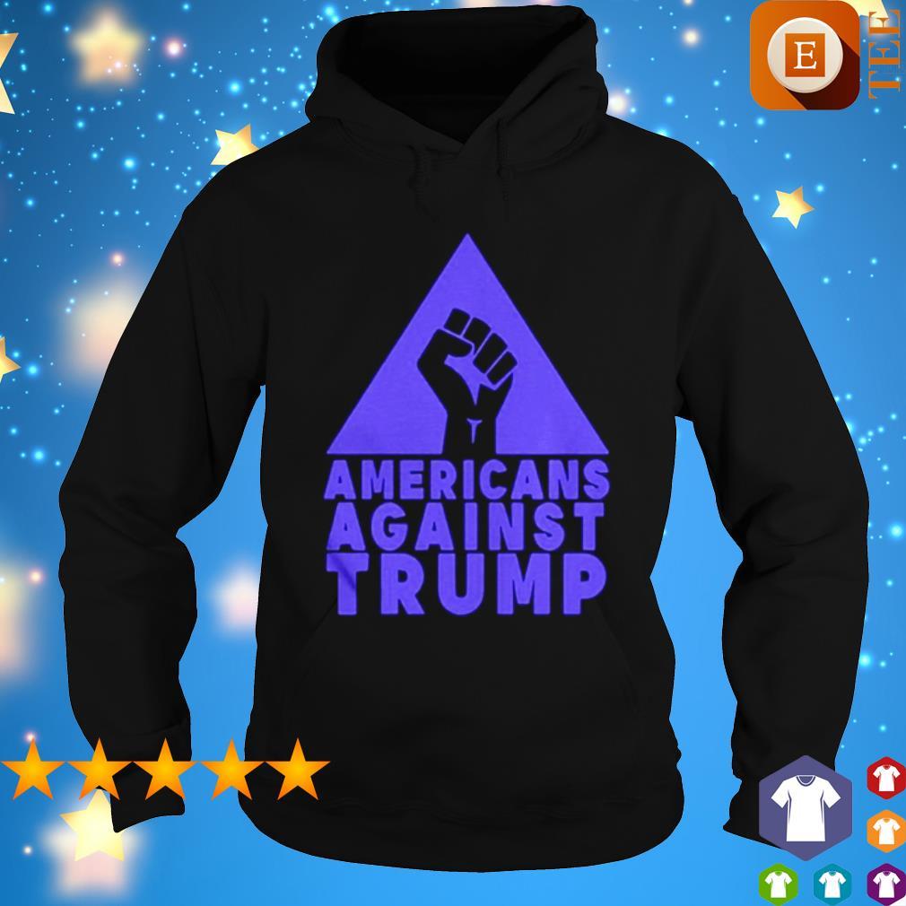 junneteenth Americans agianst Trump s hoodie