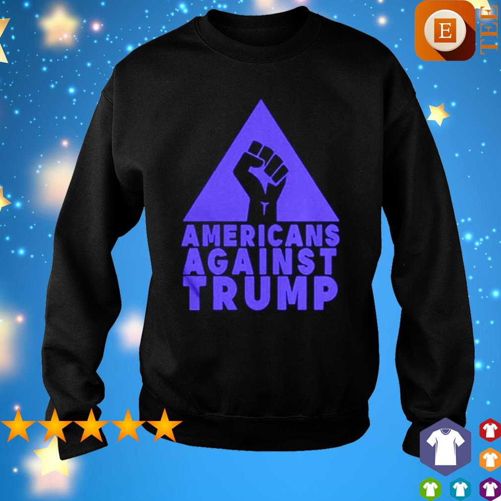 junneteenth Americans agianst Trump s sweater