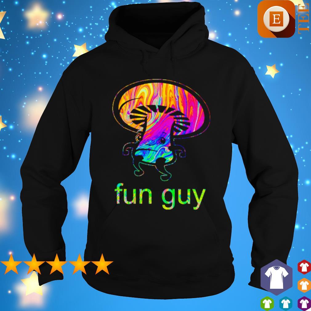 LGBT Mushroom Fun Guy s hoodie