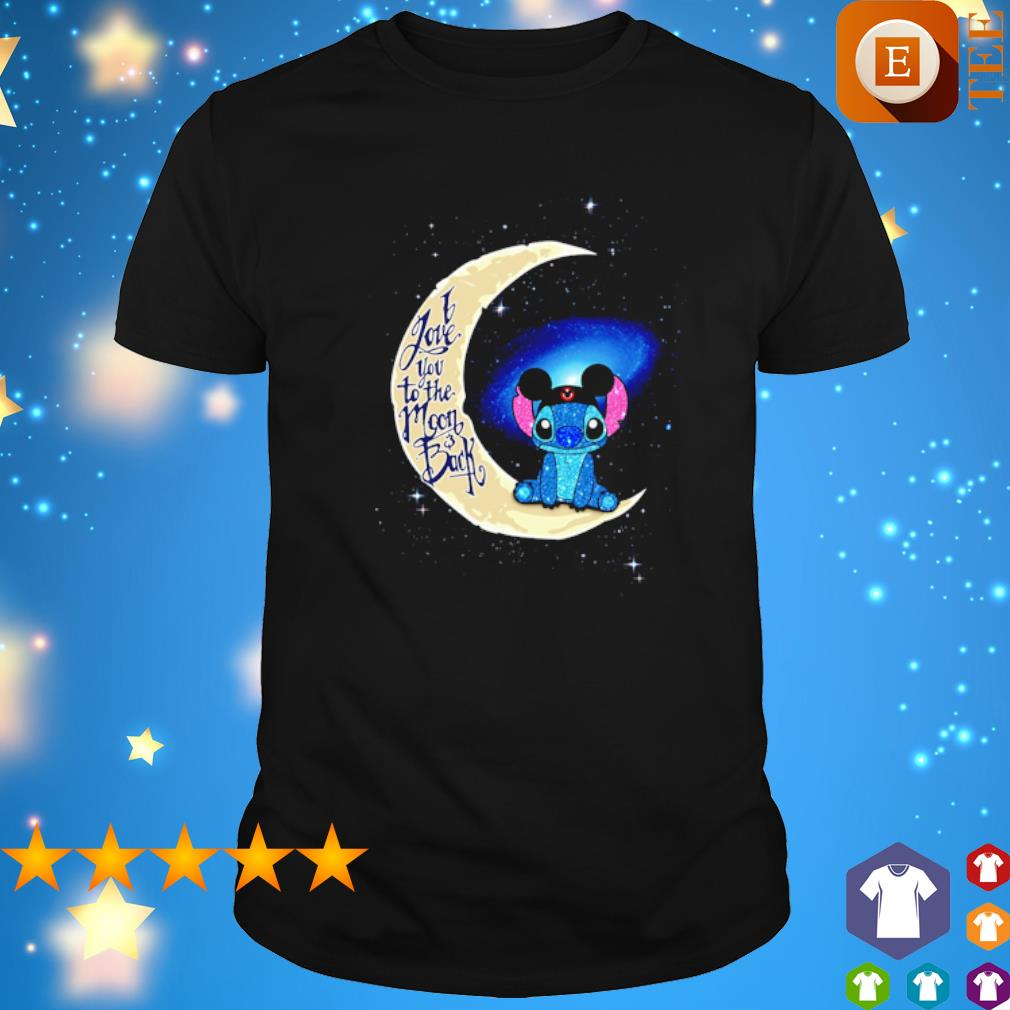 Stitch Mickey I love you to the moon and back shirt