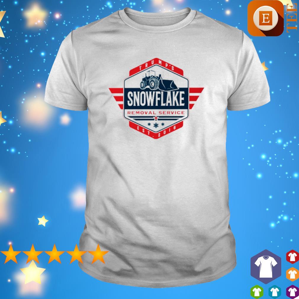 Trump's snowflake removal service shirt
