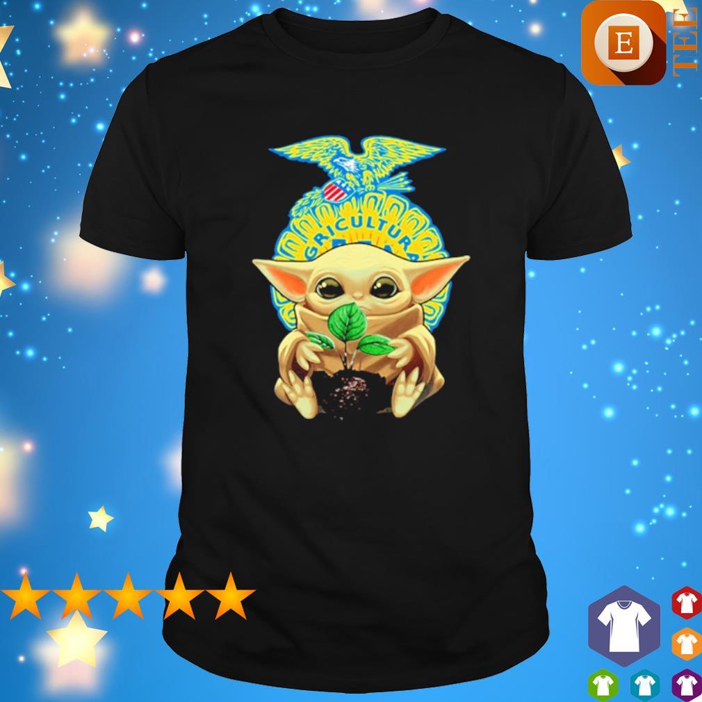 Baby Yoda Agricultural FFA shirt