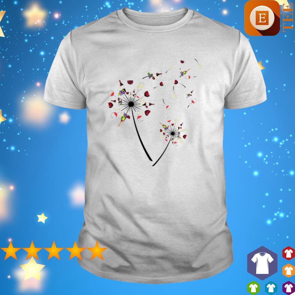 Wines dandelion shirt