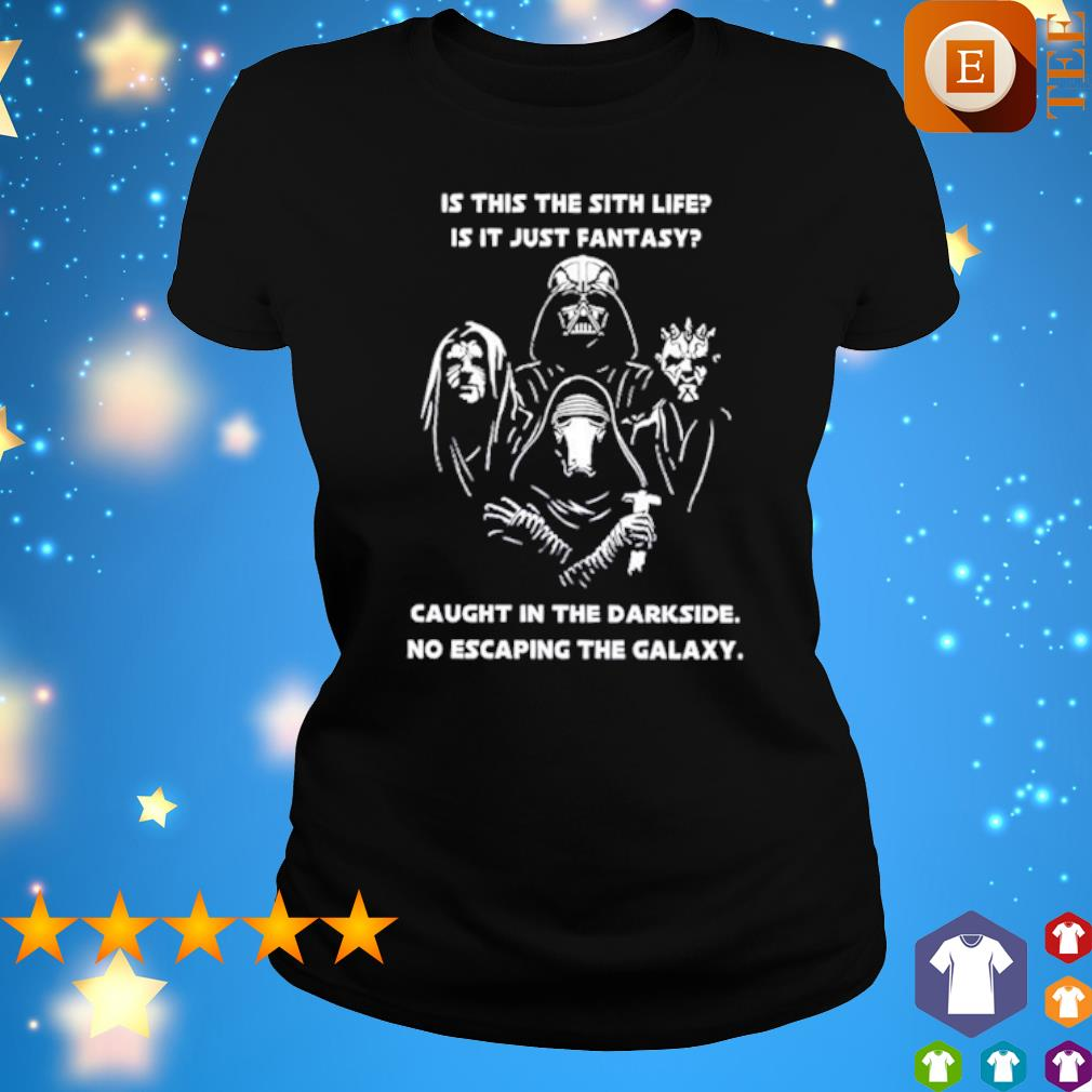 Bohemian Rhapsody Star Wars characters is this the sith life is it just fantasy s ladies tee