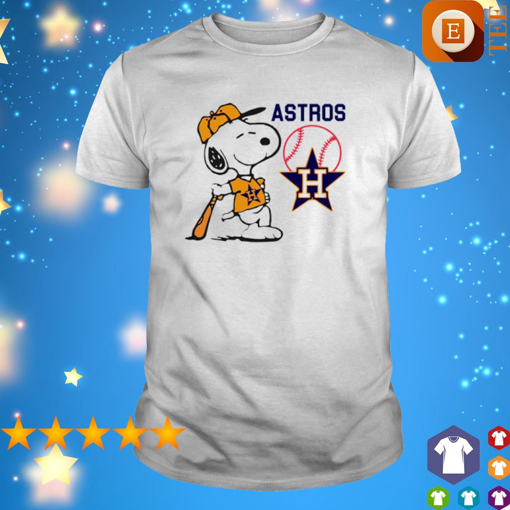 Snoopy Houston Astros shirt