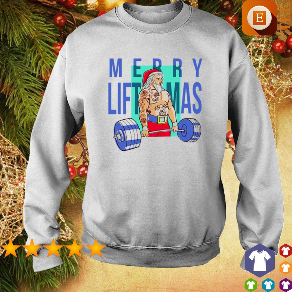 Weight lifting Merry Liftmas s sweater