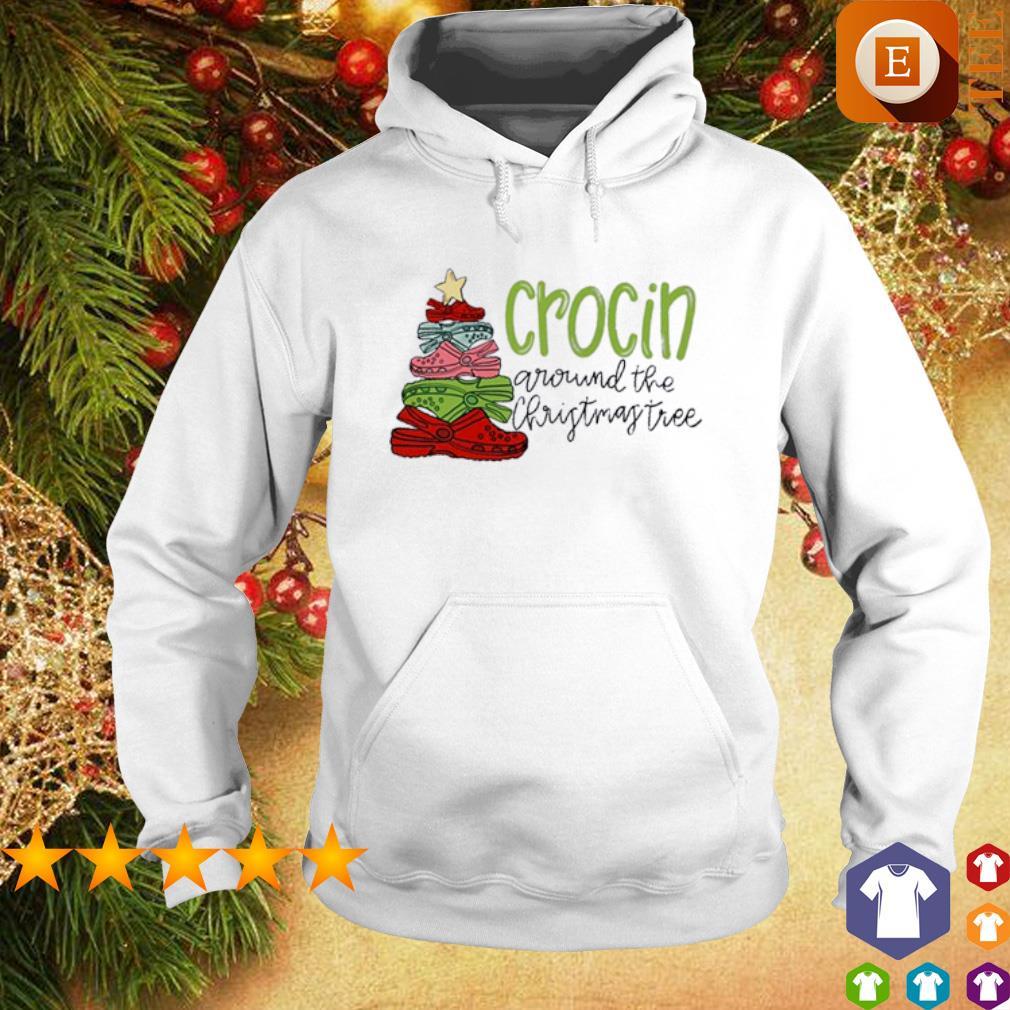 Crocin around the Christmas tree s hoodie