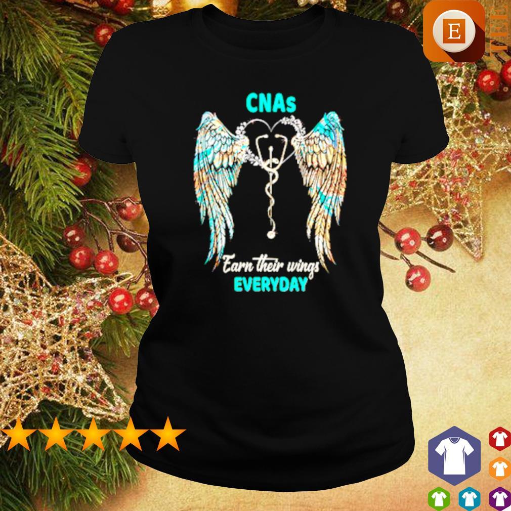 CNAs earn their wings everyday s ladies tee