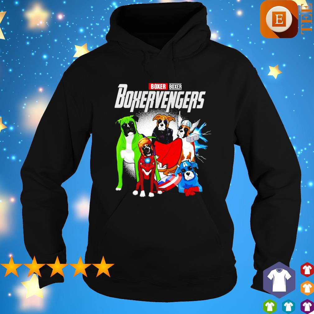 Boxer Boxervengers Avengers s hoodie
