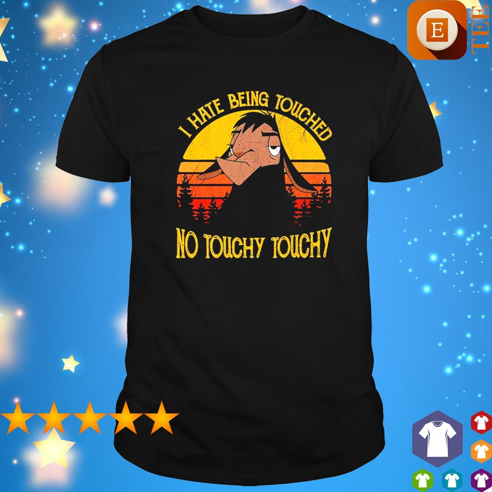 Kuzco Llama I hate being touched no touchy touchy vintage shirt