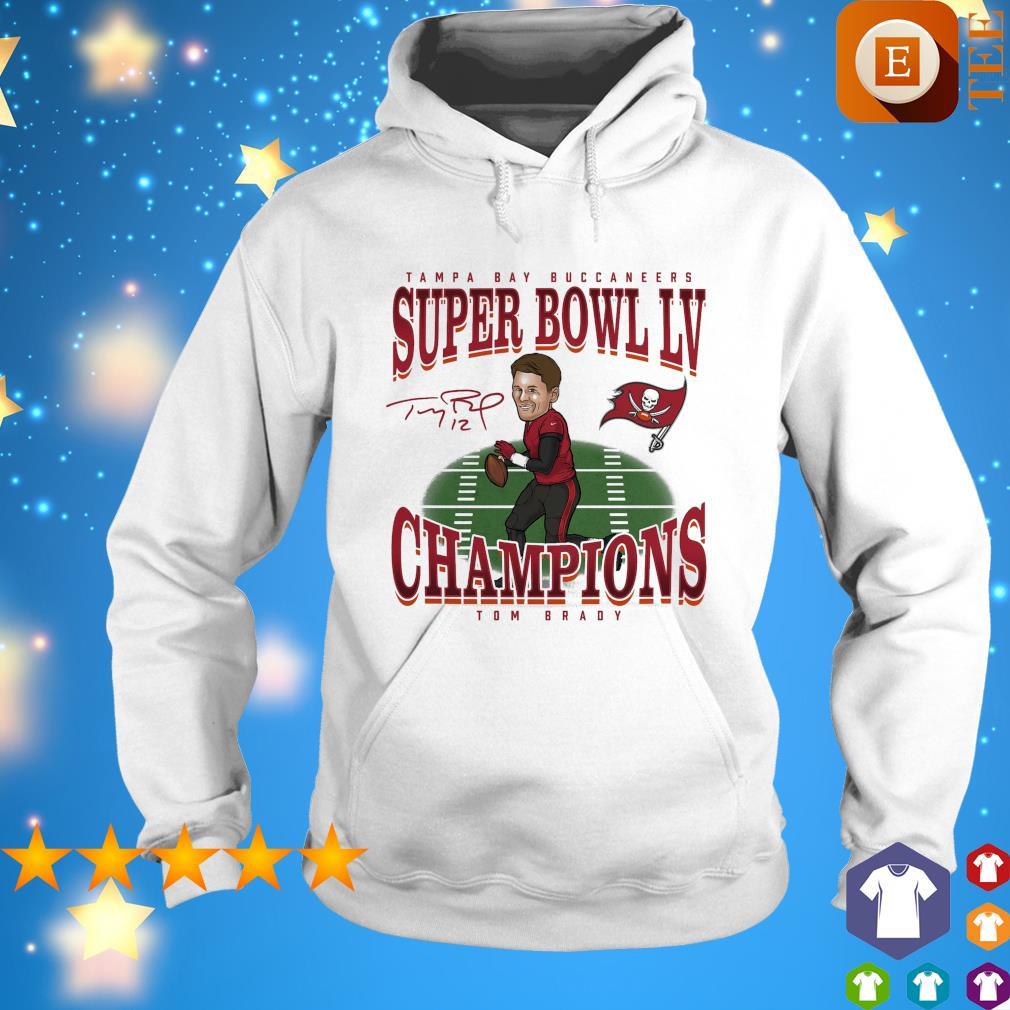 Tampa Bay Buccaneers super bowl LV champions Tom Brady s hoodie